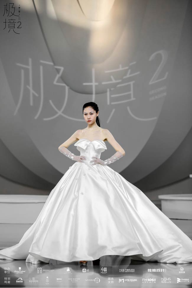 比长沙温度更高的,是这场宛如艺术展的时尚婚纱秀